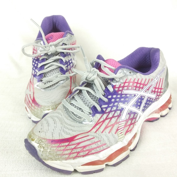 Asics Gel Nimbus 17 running shoes T557N size 7